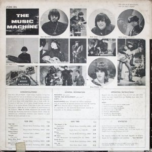 MUSIC MACHINE 1966 B