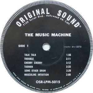 MUSIC MACHINE 1966 C