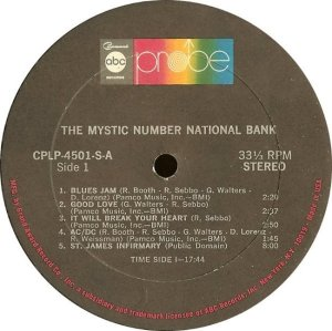 MYSTIC NUMBER NATIONAL BANK 1969 E