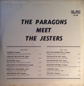 PARAGONS JESTERS 1959 B