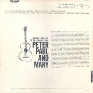 PETER PAUL MARY 1962 B