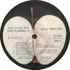 PRESTON BILLY 1971 D