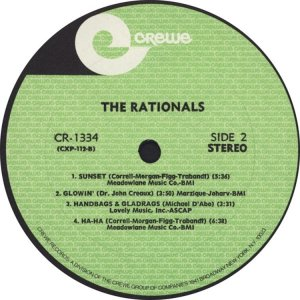 RATIONALS 1969 D