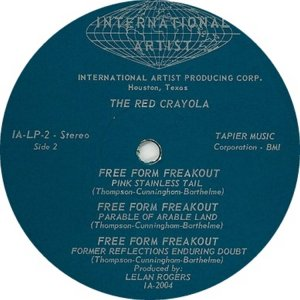 RED CRAYOLA 1967 D