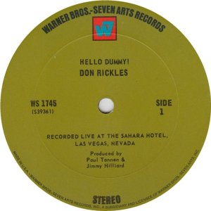 RICKLES DON 1968 C