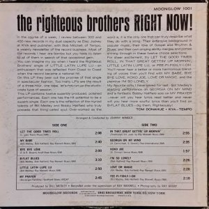 RIGHTEOUS BROS 1963 B