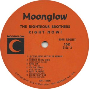 RIGHTEOUS BROS 1963 D