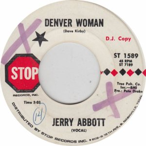 COLORADO T ABBOTT JERRY 1970