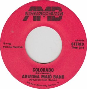 COLORADO T ARIZONA MAID BAND 1980