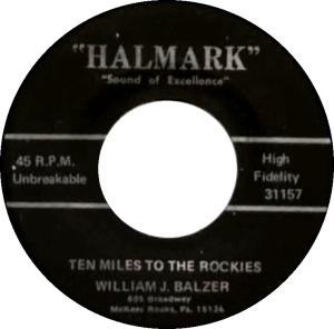 COLORADO T BALZER WILLIAM 1973 A