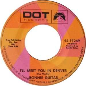 COLORADO T BONNIE GUITAR 1969 A
