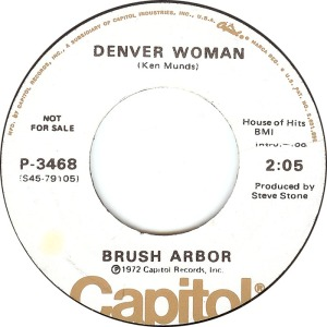COLORADO T BRUSH ARBOR 1972 A