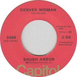 COLORADO T BRUSH ARBOR 1972 B