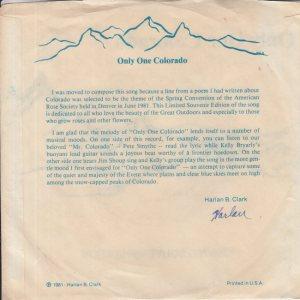 COLORADO T BRYLEY 1981 B