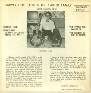COLORADO T CARTER FAMILY 1965 B