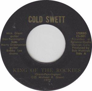 COLORADO T COLD SWEAT 1979 A