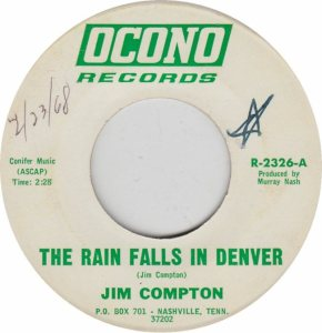 COLORADO T COMPTON JIM 1968 A