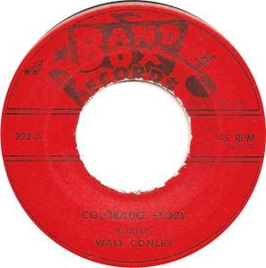 COLORADO T CONLEY WALT 1959 C