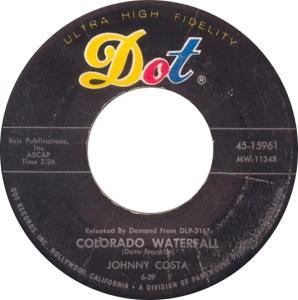 COLORADO T COSTA JOHNNY 1958 A