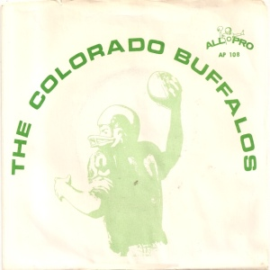 COLORADO T CU BUFFS 1972 A