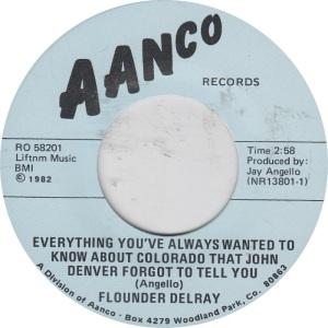 COLORADO T DEL RAY FOUNDER 1982 B