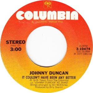 COLORADO T DUNCAN JOHNNY 1977