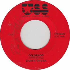 COLORADO T EARTH OPERA 1973