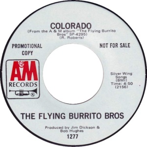 COLORADO T FLYING BURRITOS 1971 B