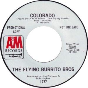COLORADO T FLYING BURRITOS 1971 B