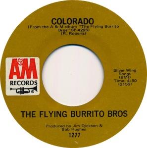 COLORADO T FLYING BURRITOS 1971 C