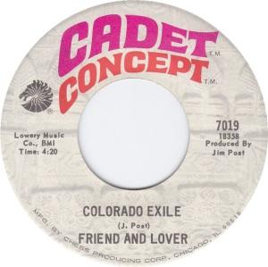 COLORADO T FRIEND LOVER 1970 C