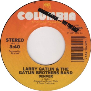 COLORADO T GATLIN LARRY 1984 A