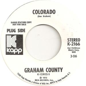 COLORADO T GRAHAM COUNTY 1972