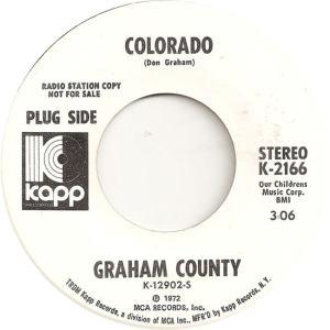 COLORADO T GRAHAM COUNTY 1972