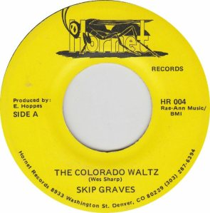 COLORADO T GRAVES SKIP 1970S A