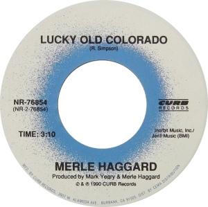 COLORADO T HAGGARD MERLE 1990 A