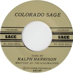 COLORADO T HARRISON RALPH 1975 C
