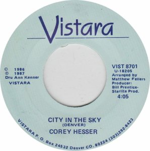 COLORADO T HESSER COREY 1987