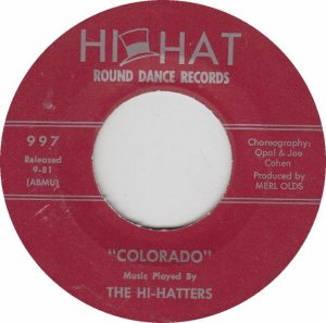 COLORADO T HI HATTERS 1981