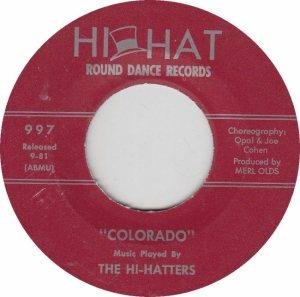 COLORADO T HI HATTERS 1981