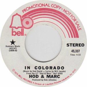 COLORADO T HOD MAR 1973 B