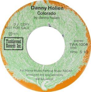 COLORADO T HOLIEN DANNY 1972