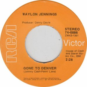 COLORADO T JENNINGS WAYLON 1973