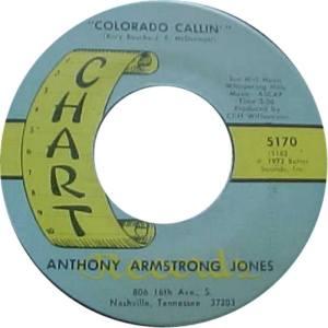COLORADO T JONES ANTHONY 1972