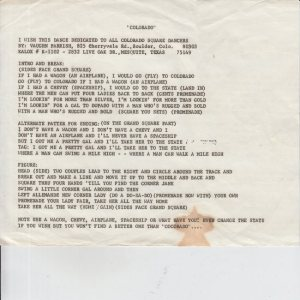 COLORADO T KALOX RHYTHM BOYS 1970'S C