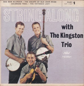 COLORADO T KINGSTON TRIO 1960 A