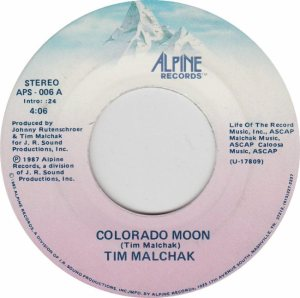 COLORADO T MALCHAK TIM 1987