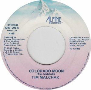COLORADO T MALCHAK TIM 1987