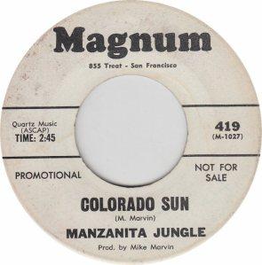 COLORADO T MAZANITA JUNGLE 1968 A
