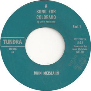 COLORADO T MEISLAHN JOHN 1973 C